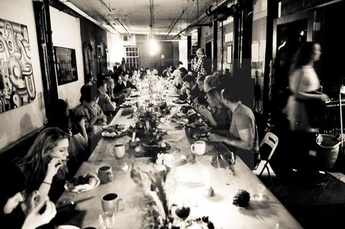THE FAILED DINNER PARTY