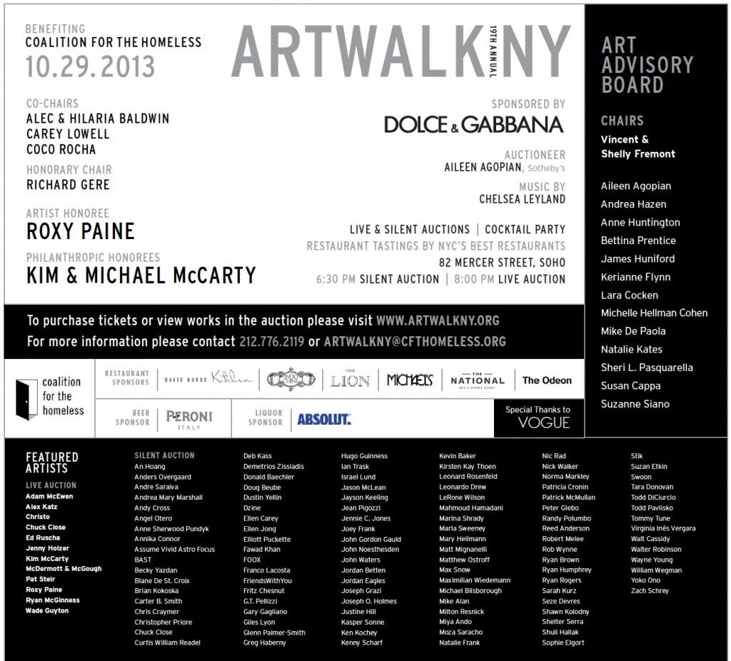 ARTWALK NY 2013